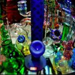 All shapes and sizes of waterpipes !