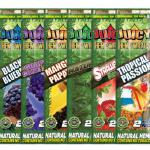 New flavored hemp wraps !  NO tobacco !